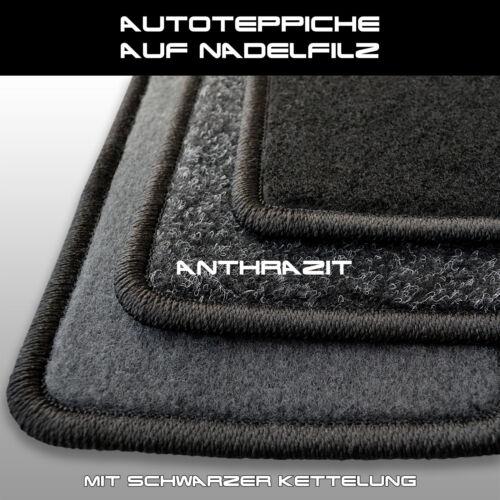 Ohne Befest Fußmatten Opel Astra G Cabrio 2001-2004 - Anthrazit Nadelfilz