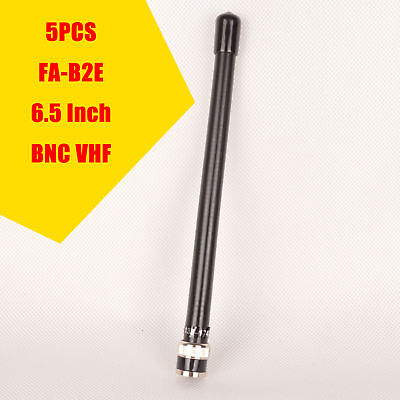 5x VHF BNC 6.2 Inch Antenna For ICOM Radio V8 V80 V80E V82 V85 New