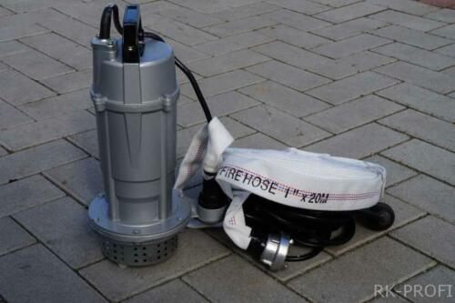 Tauchpumpe Schmutzwasserpumpe 20m Schlauch 1 Zool QDX3-0,37 L