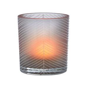 Raeder-Design-Teelichthalter-Poesielicht-Windlicht-039-Blaetter-amp-LINIEN-039-13171