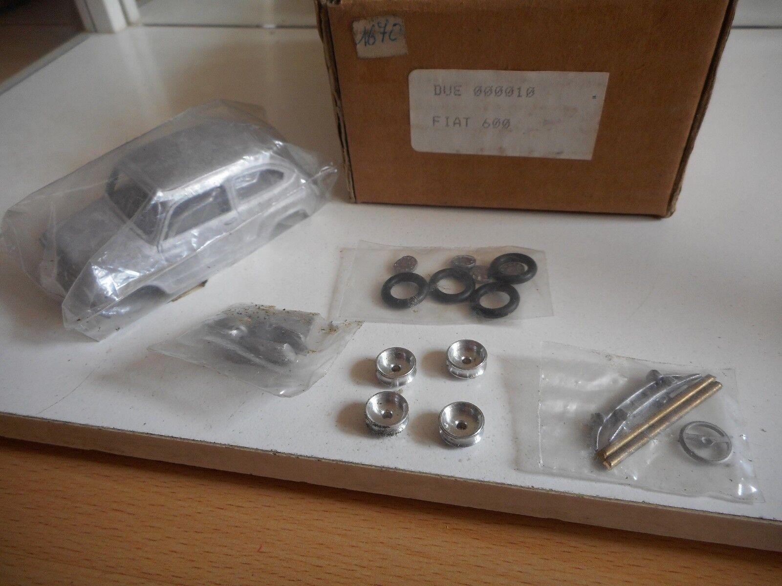 Modelkit Metal Fiat Fiat Fiat 600 on 1 43 in Box 90c665