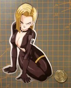 Dragon Ball Z Anime Android 18 Sticker Decal Vinyl Sign Comic DBZ