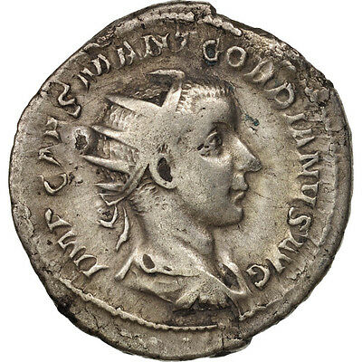 Ric:1 238 Motivated Antoninianus Ef Gordian Iii #411590 40-45 Billon Roma