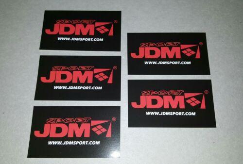 5x SPORT JDM stickers decals SPORTS JDM Automotive Performance Parts JDMSPORT