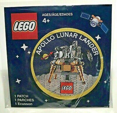 LEGO Apollo Lunar Lander Patch LIMITED EDITION COLLECTORS ITEM