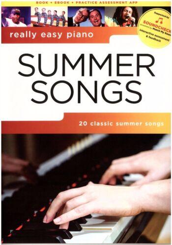 Really Easy Piano leicht Klavier Noten : Summer Songs AM 1013045