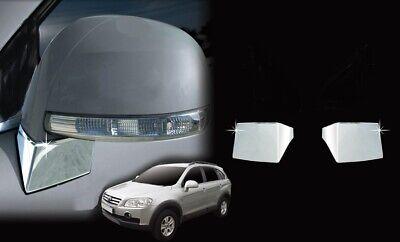 ZubehÖr Chevrolet Captiva 2006-2018 Tuning Chrom Fuss Spiegel Blenden Abdeckung Refrescante Y Enriquecedor De La Saliva