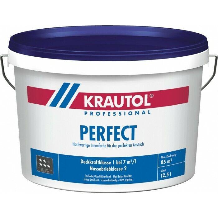 KRAUTOL PERFECT weiß Hochwertige Innenfarbe für den perfekten Anstrich 5   12,5L