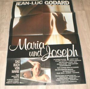 A1 Filmplakat MARIA UND JOSEPH ,JEAN LUC GODDARD,MYRIEM ROUSSEL