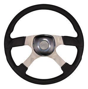 "Luxury Steering Wheel ""Trucker 4"" for PB, KW, FL, Mack, Volvo, GM, Ford, Hino..."