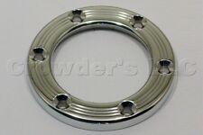 Nardi Personal Horn Trim Ring - Polished Aluminum - Screws at Sight