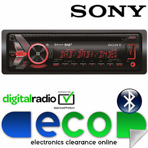 Sony-Mex-55x4-Watts-DAB-Radio-Bluetooth-CD-MP3-USB-AUX-Reproductor-Estereo-de-Coche-Restaurada
