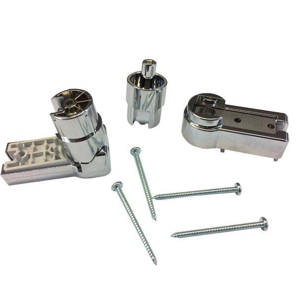 Repuesto kit bisagras superior inferior puerta Ibis de caja ducha 2B KIT86C