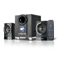 Brand Axess 2.1 Bluetooth Wireless Mini Entertainment Stereo System W/remote