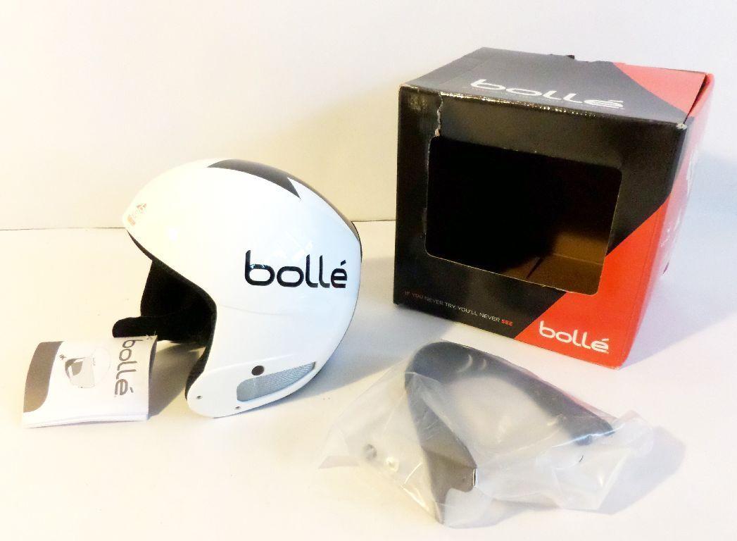 Bollé 30680 Helm Profile Weiß arrow 54 cm Skihelm Wintersport Snowboardhelm GQ8