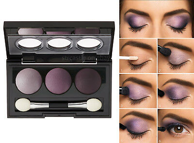 Vincent Longo Baby Dome Baked Eyeshadow Palette Trio