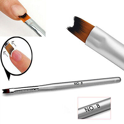 Acrylic UV Gel Nail Painting Drawing French Tips Manicure Pen Brush Vogue 1Pc