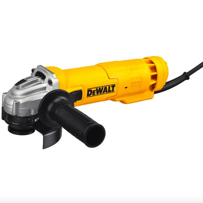 Dewalt Corded Electric 4.5 inch Wheel Angle Grinder Power Tool Adjustable Handle