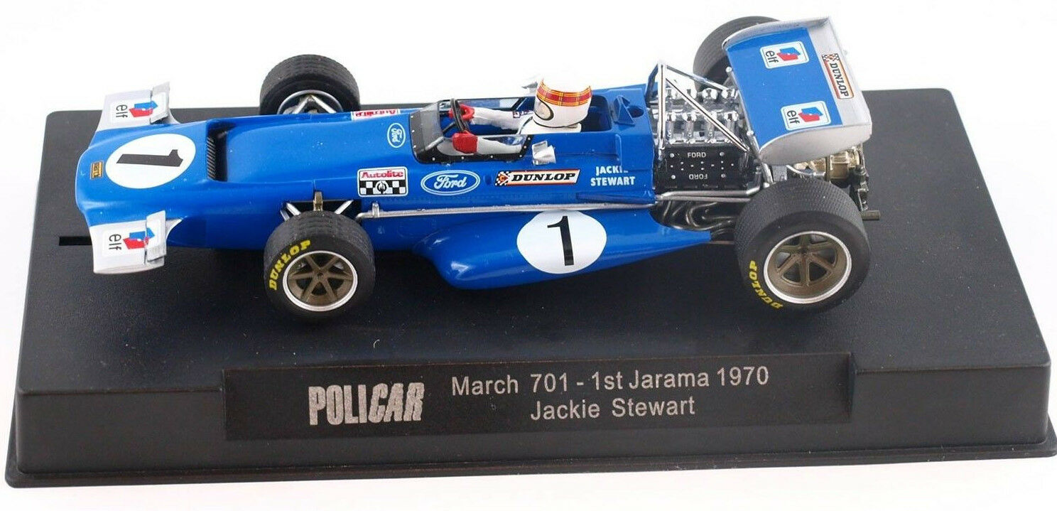 Slot It Policar March 701 - 1st 1970 Jarama 1 32 Scale slot Car CAR04B