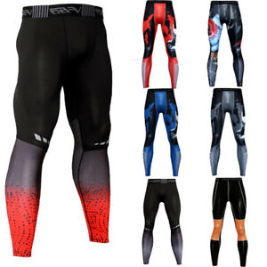 Men-039-s-Compression-Long-Pants-Running-Gym-Dri-fit-Under-Base-Layer-Dri-fit-Tights