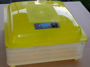 Automatic 48Eggs Digital Clear Egg Incubator Hatcher Turning Temperature Control