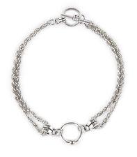 Armband MINTAKA Armkettchen Ring der O. Bracelet Fetisch O-Ring SM BDSM 50019