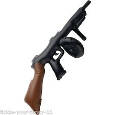 Mens Womens Inflatable Tommy Gun Scarface Gangster Al Capone 20's Fancy Dress