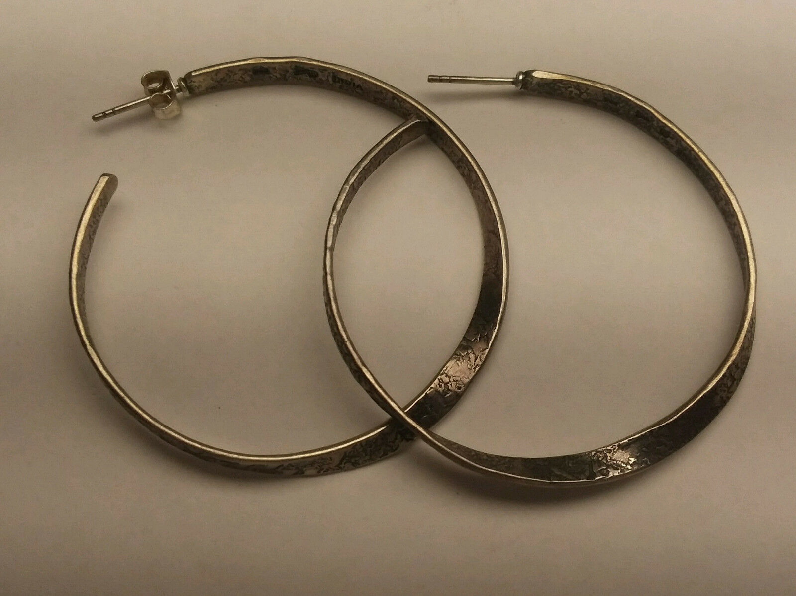 c26872809e313 SILPADA, (19004023) RETIRED .925, EARRINGS, HOOP TWISTED ...