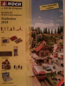 NOCH ... wie im Original - Katalog 2018 / Deutsch - Roth, Deutschland - NOCH ... wie im Original - Katalog 2018 / Deutsch - Roth, Deutschland