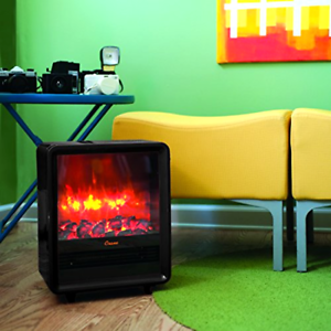 Portable Crane Fireplace Heater Perfect For Bedroom Den