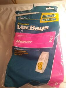 ultra-care-vac-vacuum-bags-x-4-fits-hoover-uprights-Z-allergen-open-pack