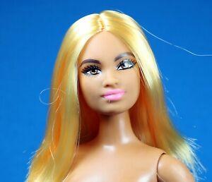 Barbie Fashionistas Curvy Nude Mbili Face AA Doll NEW