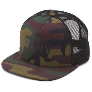 478ebdb5145 VANS Lawn Party TRUCKER CAMO One Size Hat Cap 191167079289