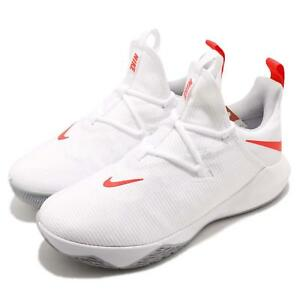 7631ebded24 Nike Zoom Shift 2 EP II Bright Crimson White Men Basketball Shoes ...