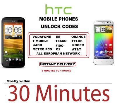 Unlock Code HTC Desire 650 550 510 512 520 525 530 610 626 620 M7 M8 M8S M9  A9   eBay