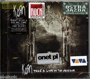 KORN-TAKE-A-LOOK-IN-THE-MIRROR-CD-sealed-polish-stickers
