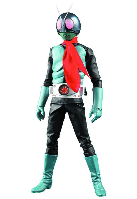 Masked Rider No.1 Real Action Hero RAH Deluxe Deluxe Deluxe Version 3.0 Medicom 932e6e