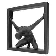 "8"" Contemporary Modern Male Man Nude Naked Sculpture Statue"