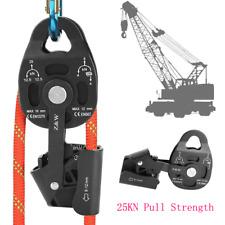 Heavy Duty Single Swivel Fixed Pulley Sheave Rigging Lift Rope Lifting Wheel New