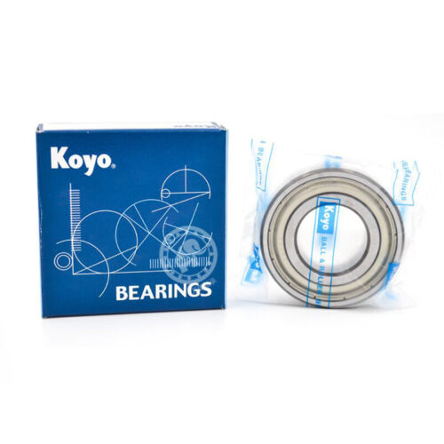 KOYO 6801 ZZ Deep Groove Ball Bearings 12x21x5mm
