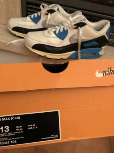 13 Us Qs Limited Air 90 Ds Nike uitverkocht Vintage Og Edition Rare Max WrBCxedo
