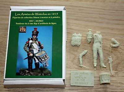 NAPOLEON-HISTOREX-TAMBOUR DU 6 ème RGT ARTILLERIE  -LES ARMEES DE WATERLOO