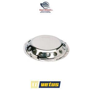AERATEUR-DE-PONT-INOX-200-mm-VETUS-UFO-avec-moustiquaire