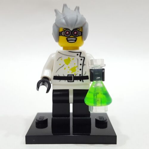 "LEGO Collectible Minifigure #8804 Series 4 /""CRAZY SCIENTIST/"" Complete"