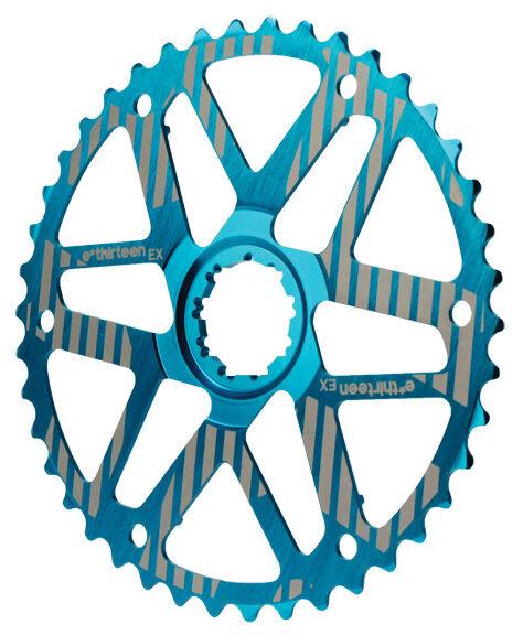 E.13 e  thirteen extendida COG Para SRAM 10 velocidad  Range Bicicleta Cassette 42 T azul  almacén al por mayor