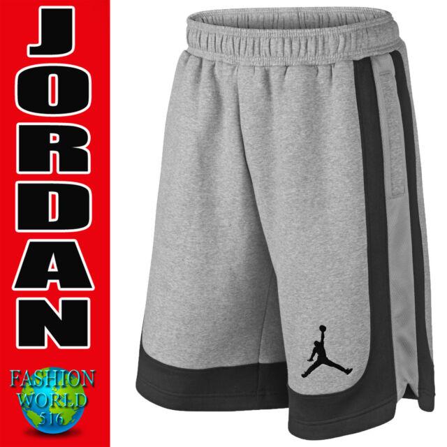 b7b1a974449339 Nike Jordan Youth Varsity Knit Basketball Shorts Boys Medium 952812 Gray