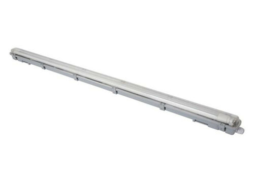 T8 Deckenleuchte Feuchtraumlampe mit 18W LED für Werkstatt Keller Garage Outdoor