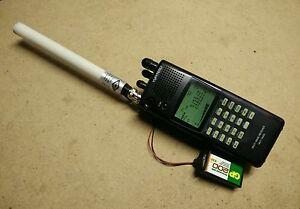 Details about Mini Whip Antenna 10 KHz 30 Mhz VLF LF MF HF for icom R20 AOR  8200 Radios SSB AM