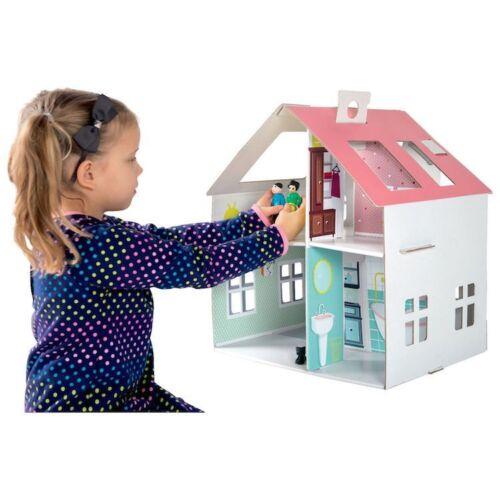 Casa delle Bambole in Cartone da assemblare Legler 10761