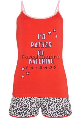 Libre nextday oficial amigos PJ Cami Set Chaleco Pantalones Cortos Calcetines Central Perk Pijamas